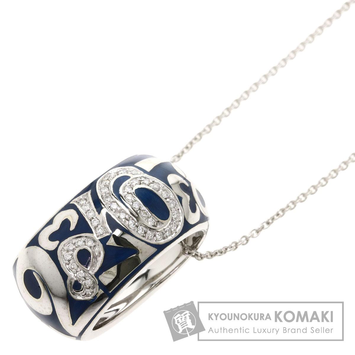 フランクミュラー タリスマン ダイヤモンド ネックレス K18ホワイトゴールド レディース 【中古】【FRANCK MULLER】
