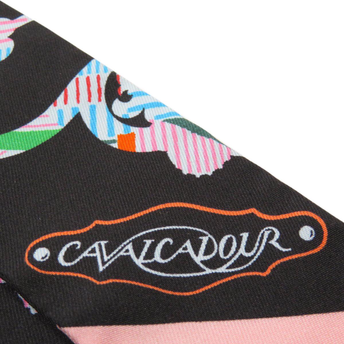 エルメス ツイリー CAVALCADOUR スカーフ シルク レディースHERMESoWCQeErdxB