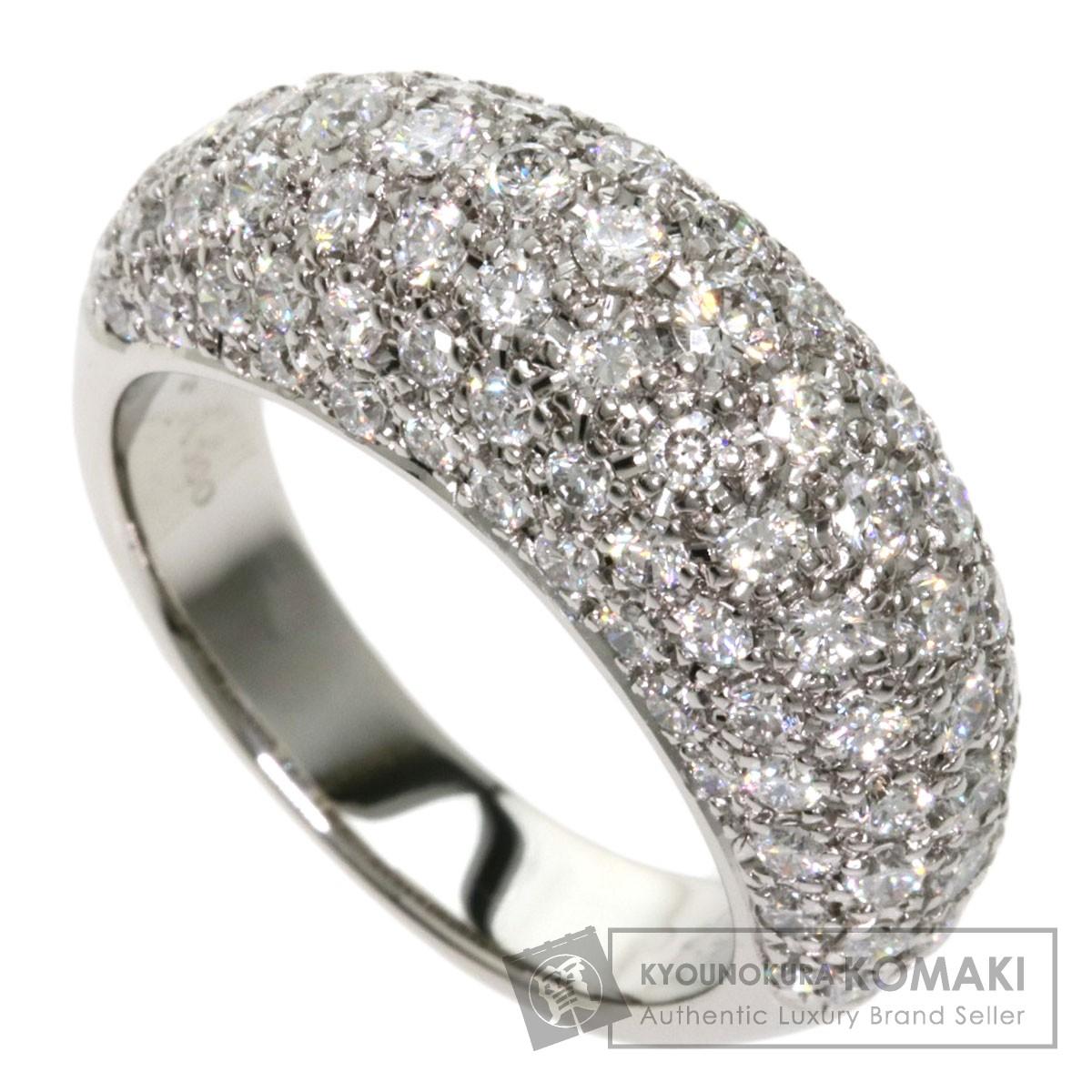 サザンクロス ダイヤモンド リング・指輪 プラチナPT900 レディース 【中古】【Southern Cross】