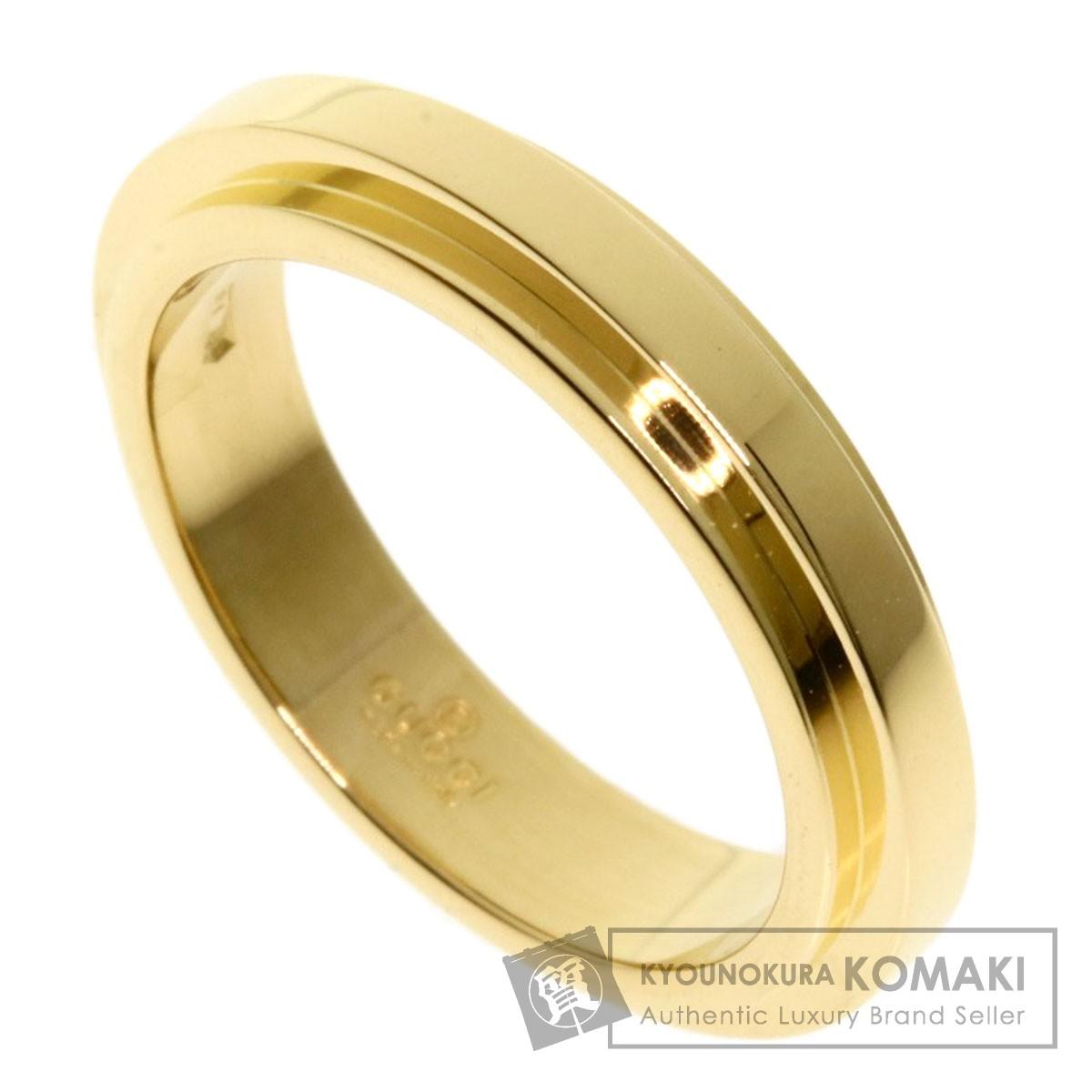 グッチ デザインリング リング・指輪 K18イエローゴールド レディース 【中古】【GUCCI】
