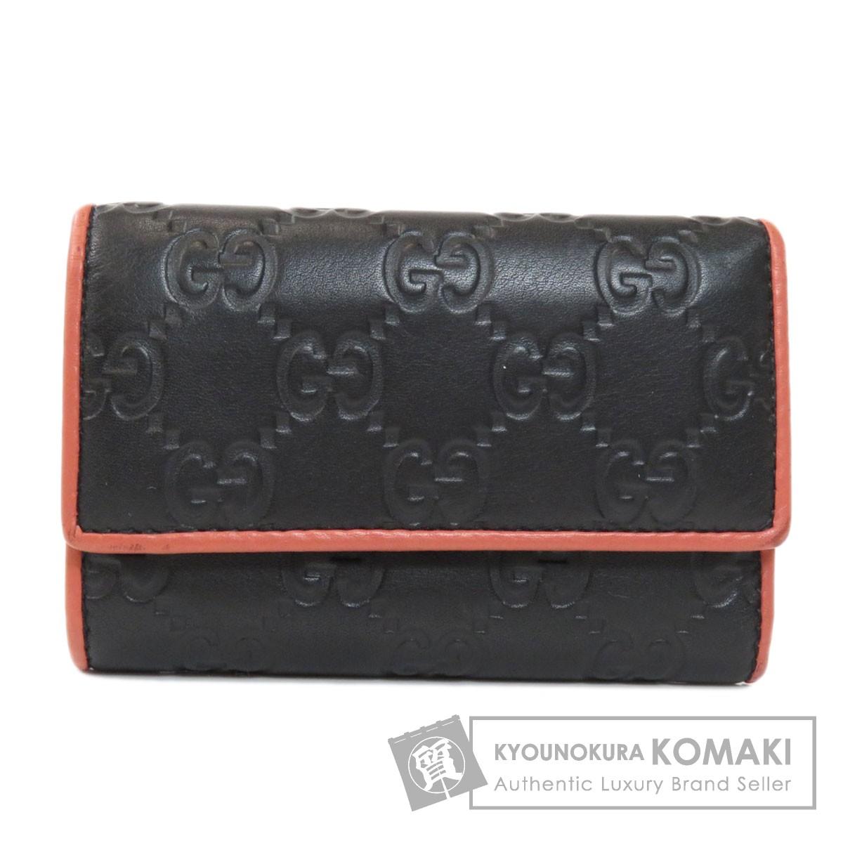 グッチ 256441 GG シマ 財布付き キーケース カーフ レディース 【中古】【GUCCI】
