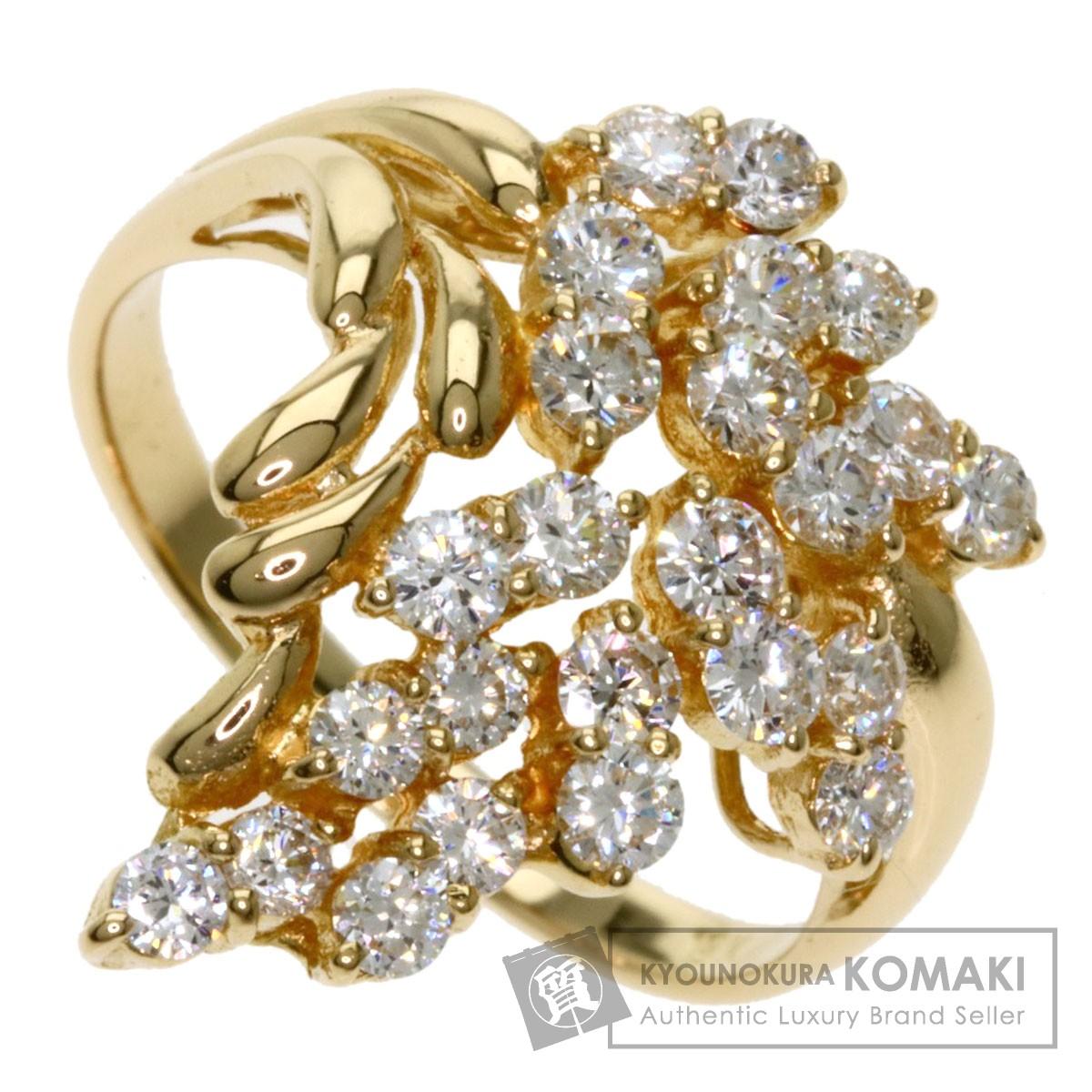 ダイヤモンド リング・指輪 18K 4.5g レディース 【中古】