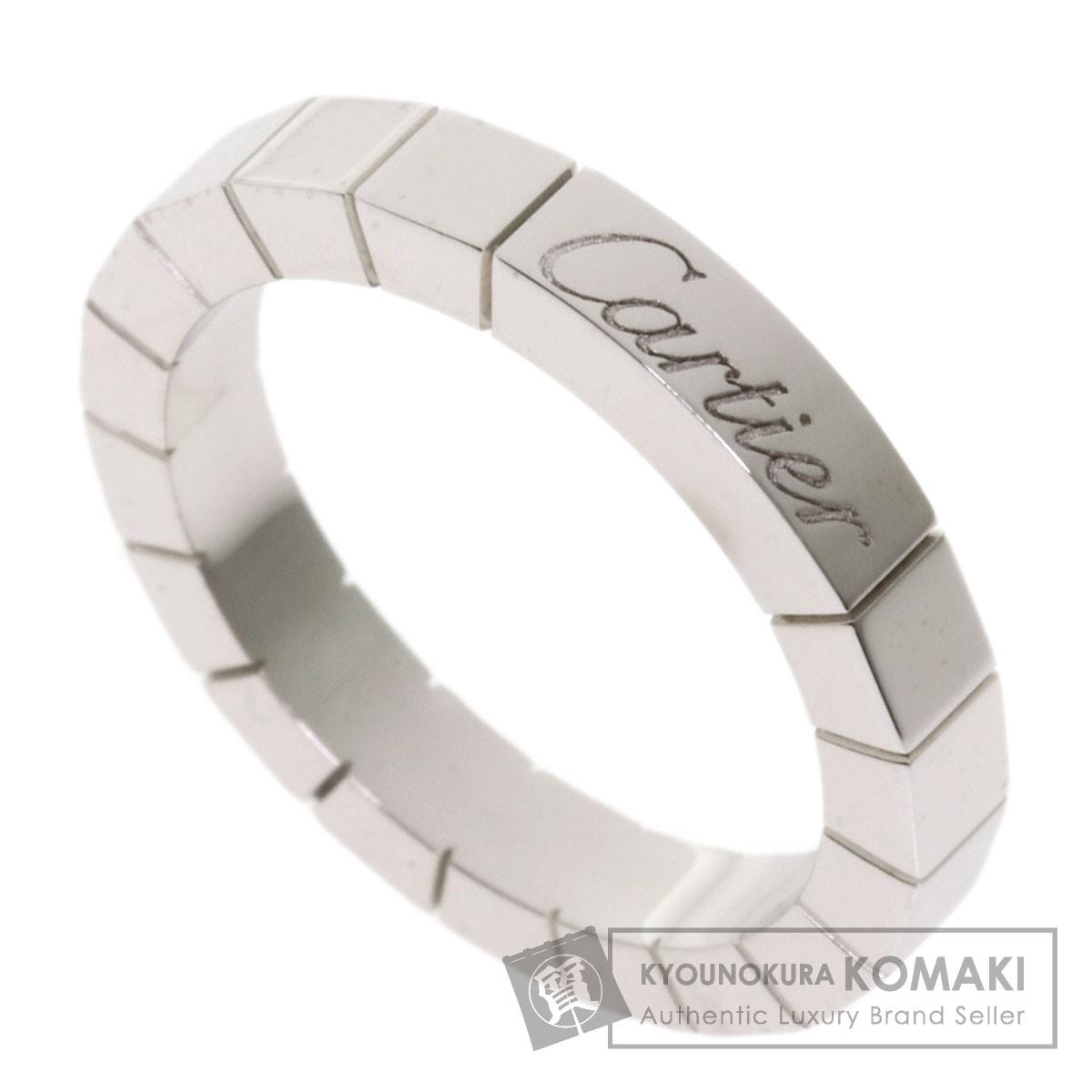 カルティエ ラニエール #48 リング・指輪 K18ホワイトゴールド レディース 【中古】【CARTIER】