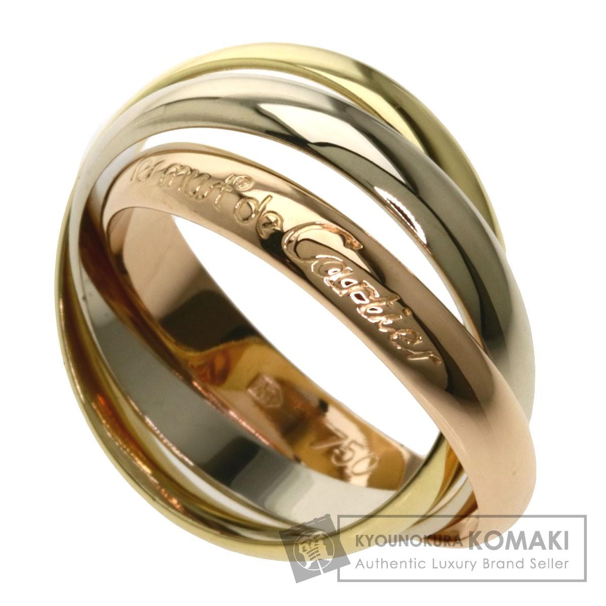 【感謝価格】 カルティエ トリニティリング #54 リング・指輪 K18イエローゴールド/K18PG/K18WG レディース 【】【CARTIER】, インテリア つるや 3a99f978