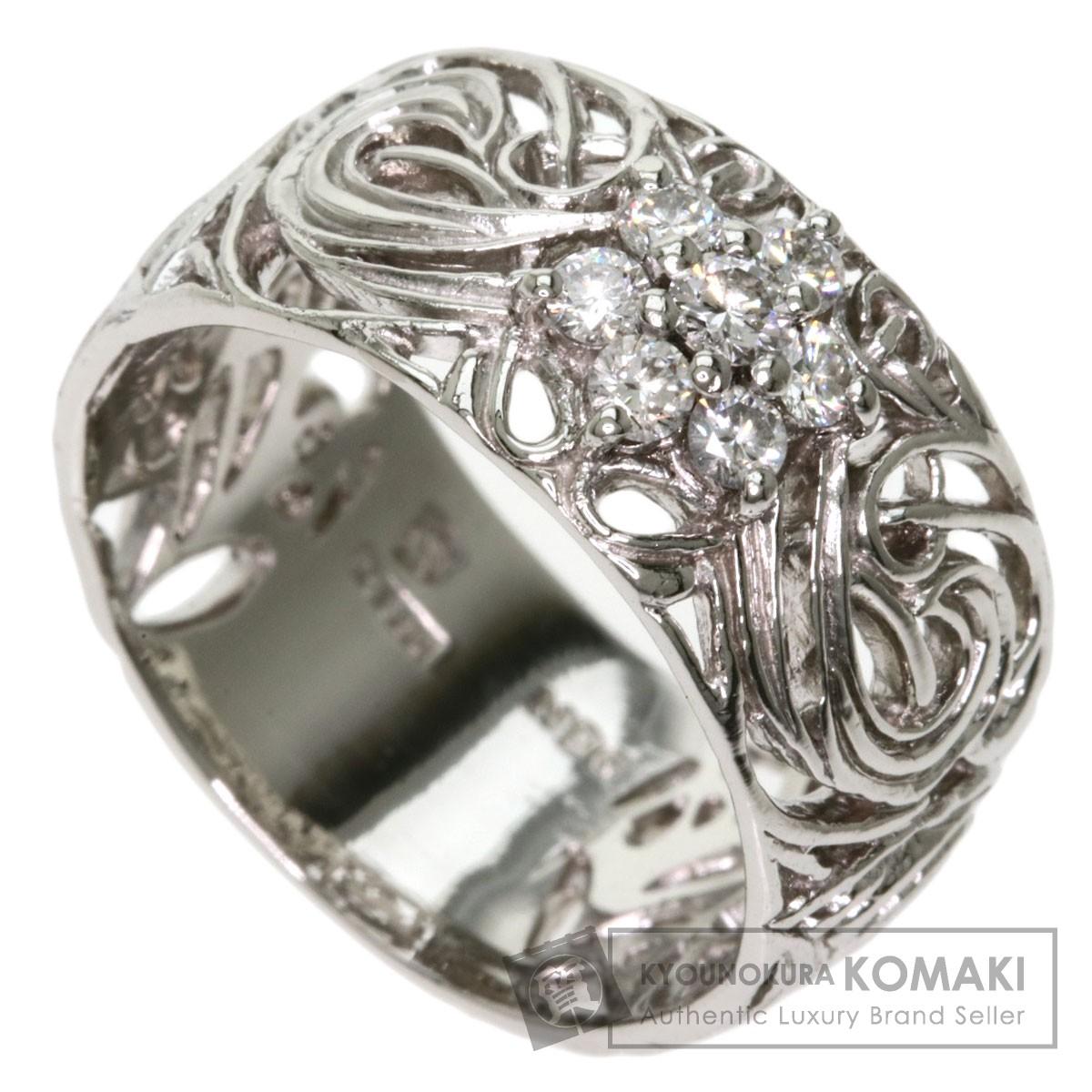 ダイヤモンド リング・指輪 プラチナPT950 11.5g レディース 【中古】