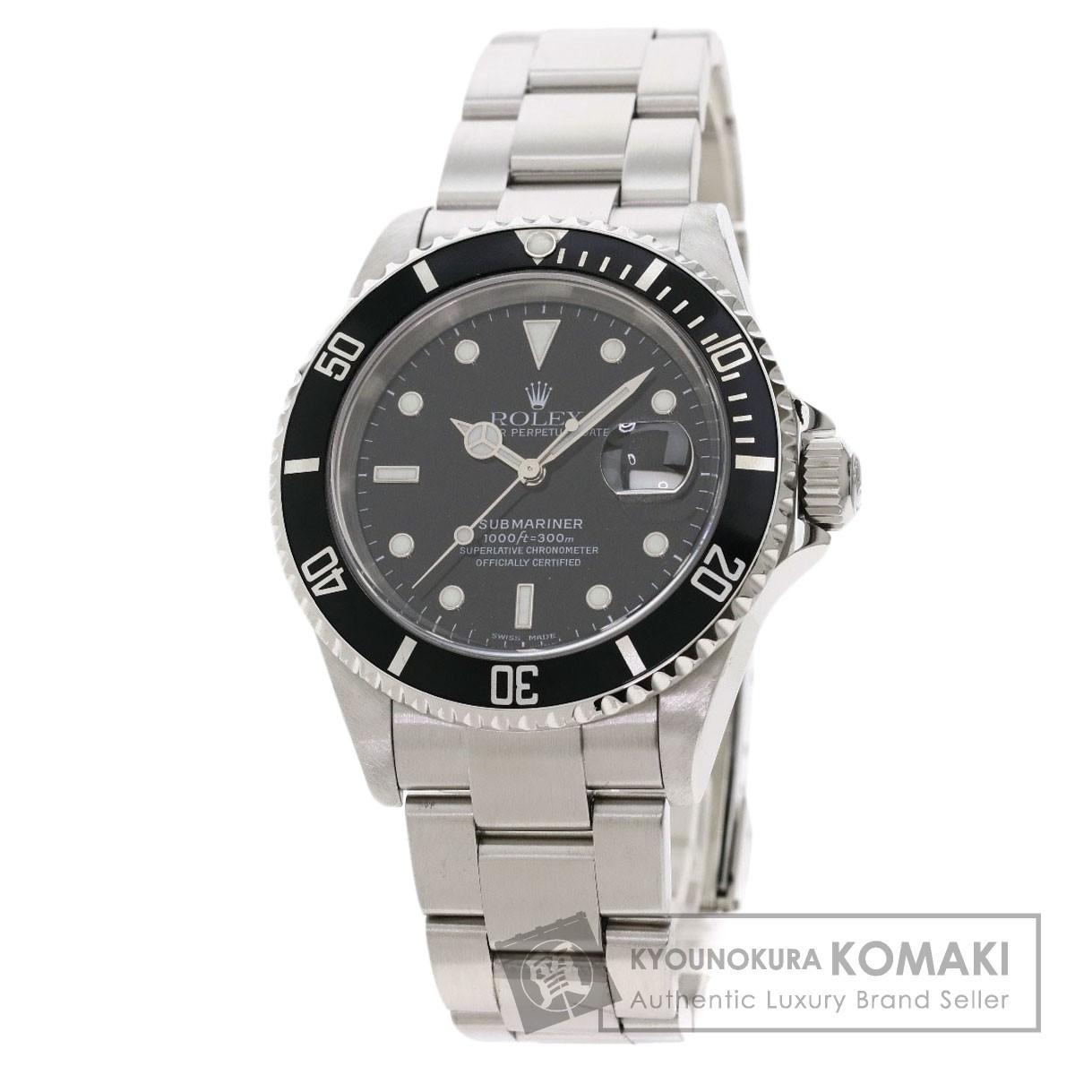 海外並行輸入正規品 ロレックス 16610T サブマリーナデイト 腕時計 OH済 ステンレススチール/SS メンズ 【】【ROLEX】, ネックレスチェーン天然石 RUBBY fafb60c2