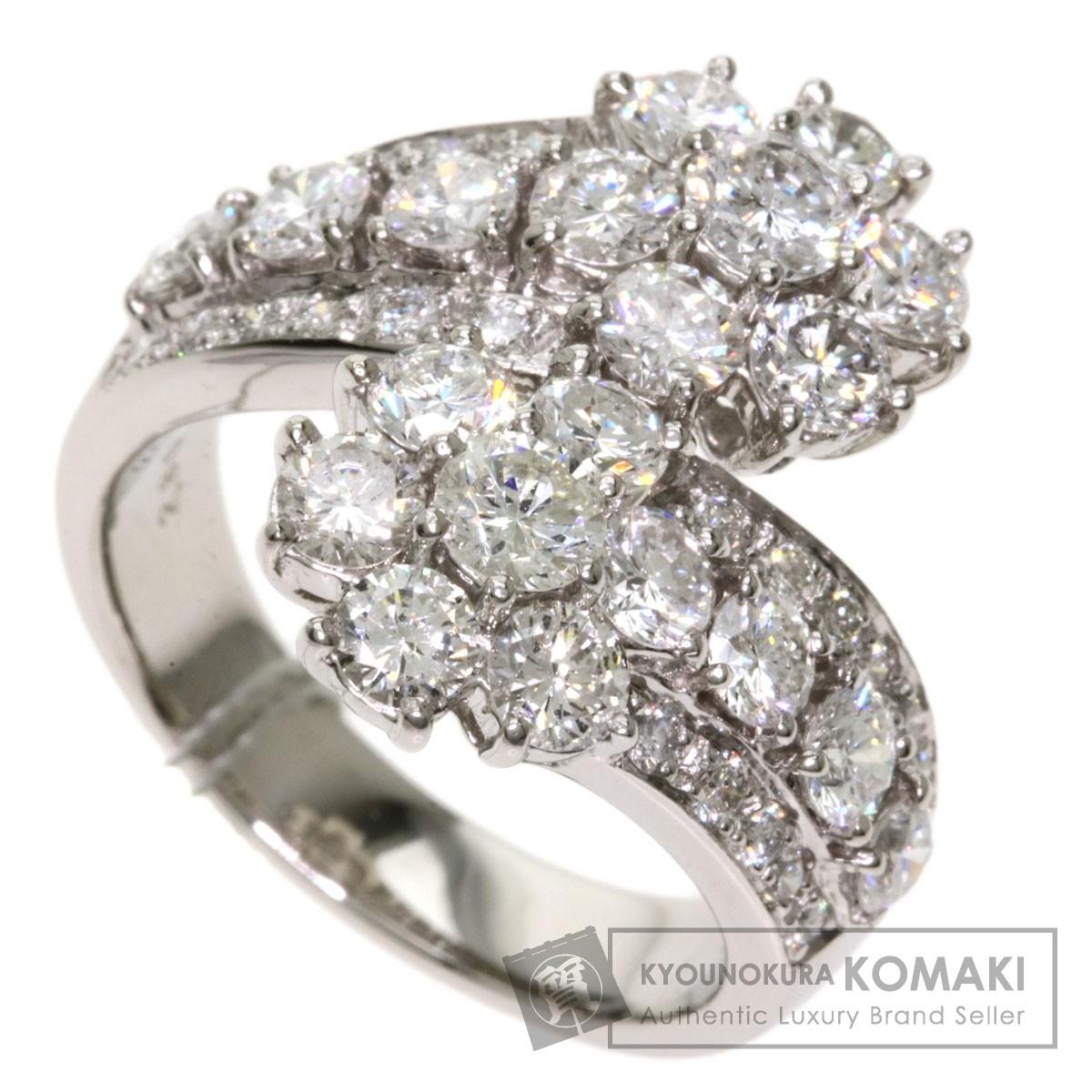 ダイヤモンド リング・指輪 プラチナPT900 13g レディース 【中古】