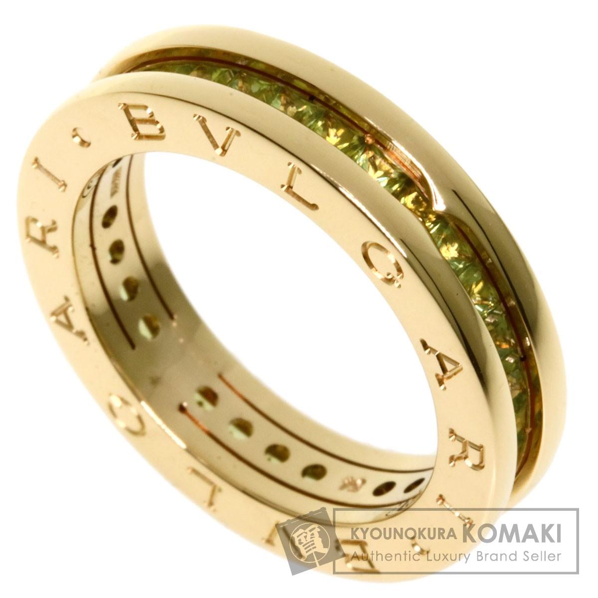 【超特価】 ブルガリ B-zero1 XS ペリドット #54 リング・指輪 K18イエローゴールド レディース 【】【BVLGARI】, vif 125d8a9b