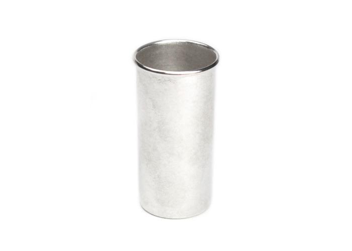 美しい輝きと洗練されたフォルム 南鐐 茶巾筒(受注生産品 納期一ヶ月)