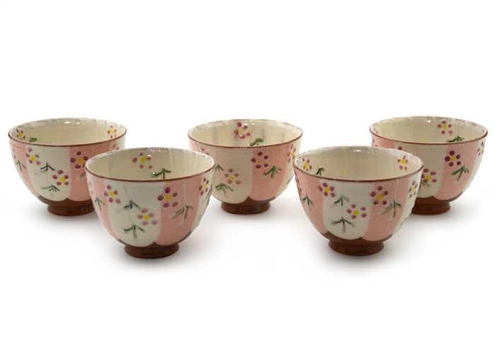 花いろ お茶呑茶碗(5ヶ入)