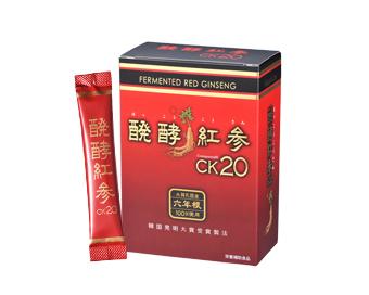 ・・醗酵紅参CK20顆粒(750mg×30包)
