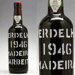 マディラ [1946] ヴェルデーリョ750ml(蝋キャップが欠けています)