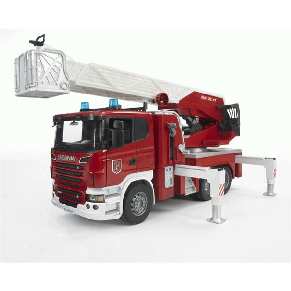 知育玩具 1/16模型 SCANIA 模型 ブルーダー 消防車
