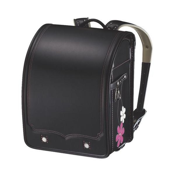 コクヨ★あんふぁんランドセル2015限定モデル「M-style byMarty(ビターブラック・ステッチ:ピンク)」