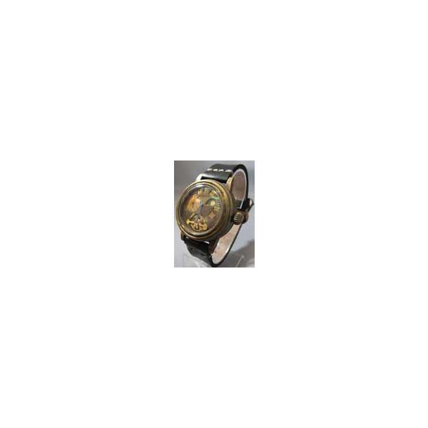 手造り腕時計 楓(かえで) BK