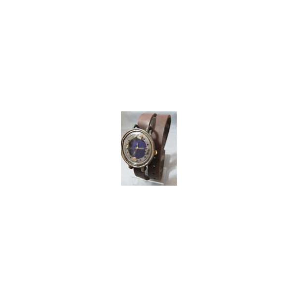 手造り腕時計 二重丸 Bu DBR