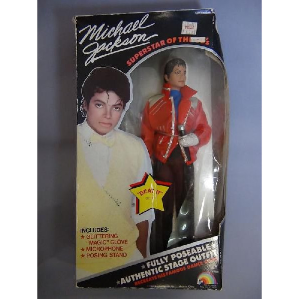 マイケルジャクソンオフィシャル人形(BEAT IT)