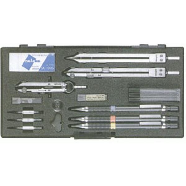 製図用品   独式製図器セット (9本組20品)