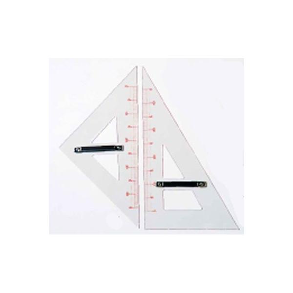 教授用アクリル製三角定規(2個1組)