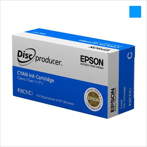 EPSON PP-100 2/AP用 インクカートリッジ シアン PJIC1C