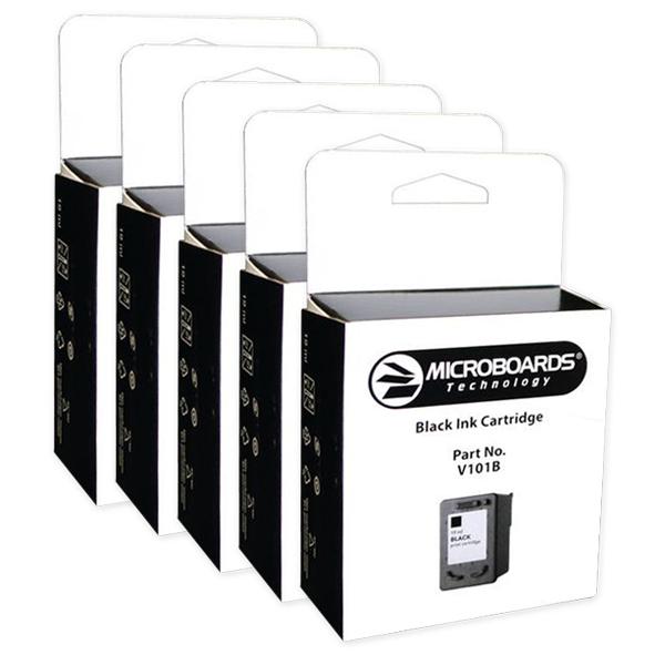 【PrintFactory G4用インクカートリッジ】V101B ブラック(5本パック)【CDコピー・DVDコピー・CDダビング・DVDダビング・自動コピー・大量コピー】
