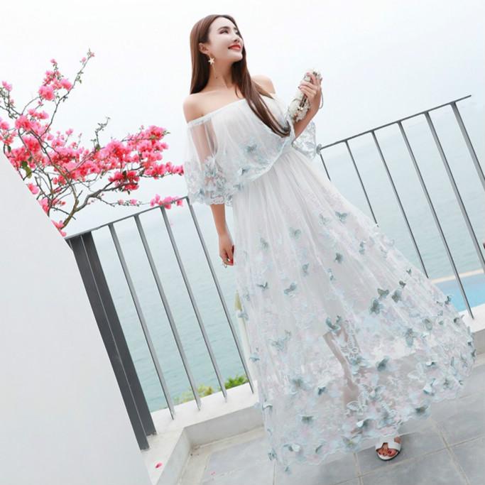 Kyrie Resort Sea Beach Wedding Ceremony Second Party Party Dress