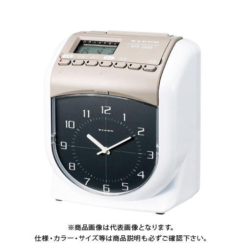ニッポー タイムレコーダー NTRー2800 NTR-2800