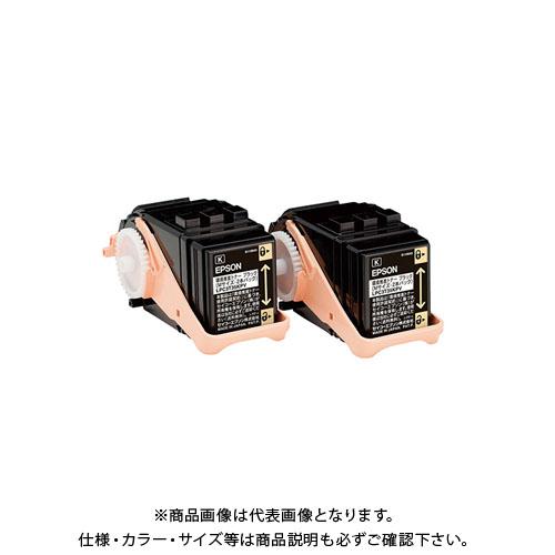 エプソン 環境推進トナークロMサイズ2本パック LPC3T35KPV