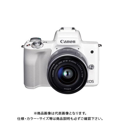 キヤノン ミラーレスカメラ EOSKissM WH EOSKISSMWH1545ISSTML