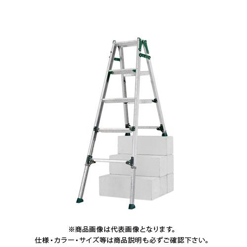 【直送品】アルインコ ALINCO 伸縮脚付はしご兼用脚立(段差用) PRH-1215FX