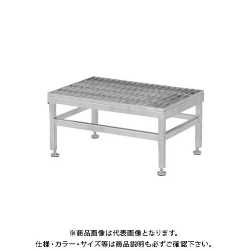 【直送品】アルインコ ALINCO ステンレス製グレーチング作業台 SUC SUC-604H