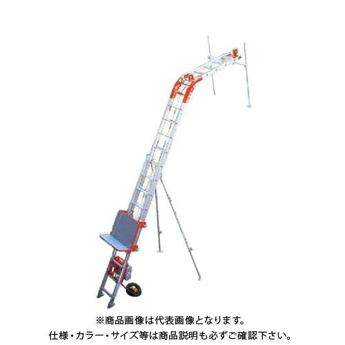 【運賃見積り】【直送品】アルインコ ALINCO 瓦揚げ機 パワーコメット パネル用台車セット(2階用) UP103PLS-Z-2F