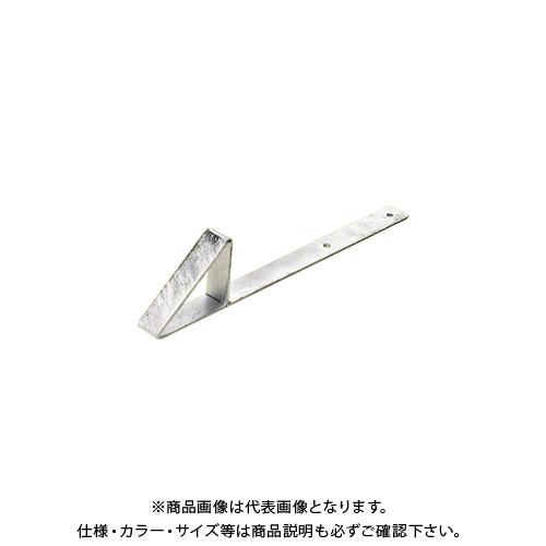 アミリ 三角アングル止 390L 390mm ドブメッキ 100個 Y7-420
