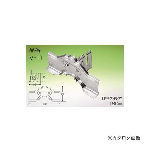 野島角清製作所 雪国 立平 (小) 1本止YC処理BN 180mm ドブメッキ 30個 V11-020