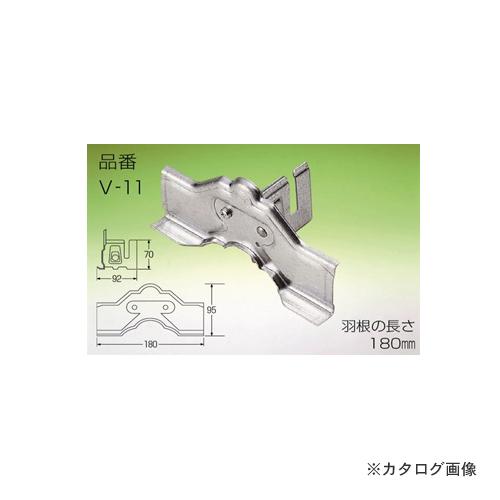 野島角清製作所 雪国 立平 (小) 1本止 180mm SUS304 30個 V11-050