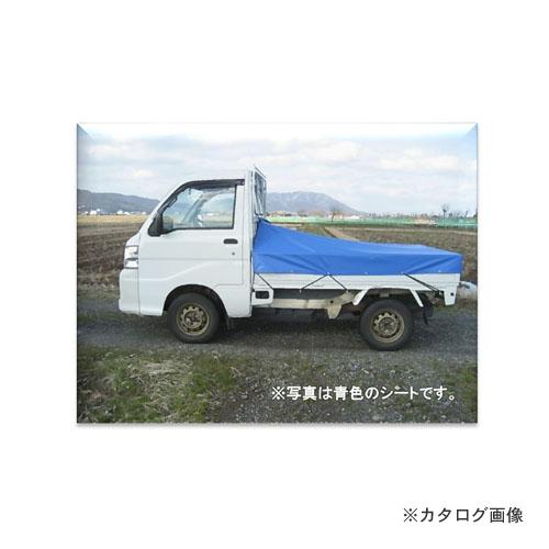 【運賃見積り】【直送品】ミツル UV加工済カラー軽トラック用シート台形 2m(1.8m)×2.2m 迷彩
