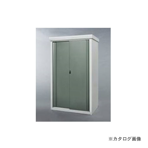 【個別送料7000円】【直送品】グリーンライフ 中型収納庫0915 グリーン SRM-0915(GR)