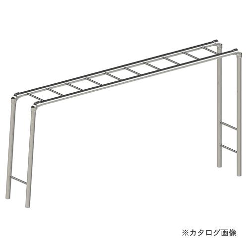 【運賃見積り】【直送品】浅野金属工業 小型雲梯- AK23855