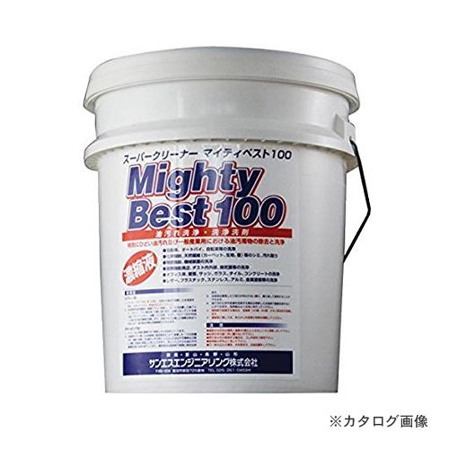 【運賃見積り】【直送品】 SER サンエスエンジニアリング マイティベスト100 20L×1缶