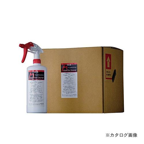 【直送品】 SER サンエスエンジニアリング モケットクリーナー 1L×12本