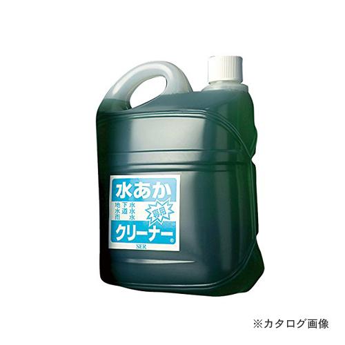 【運賃見積り】【直送品】 SER サンエスエンジニアリング 水あか専用クリーナー 5L×4本