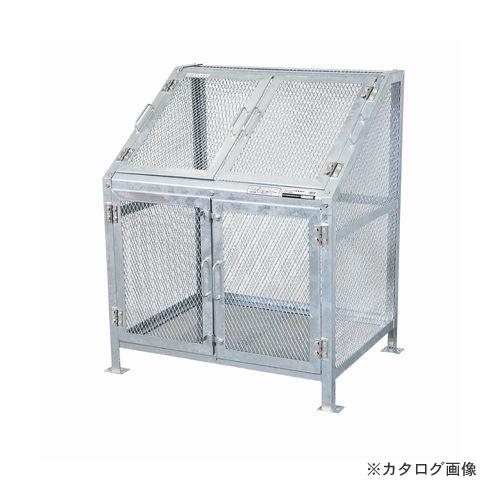 【運賃見積り】【直送品】グリーンライフ メッシュゴミ収集庫 KDB-900N