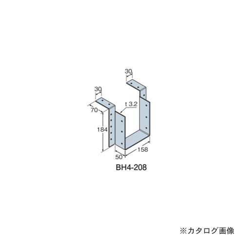 タナカ C梁受け金物(釘同梱) BH4- 208 158×184×3.2 (10個入) AC1408A0