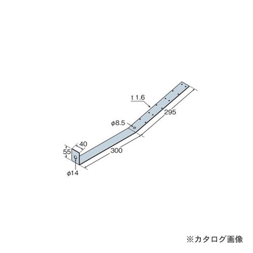 タナカ Cストラップアンカー(釘同梱) SA- 65 40×595×H55×1.6 (50枚入) AC1SA1A0