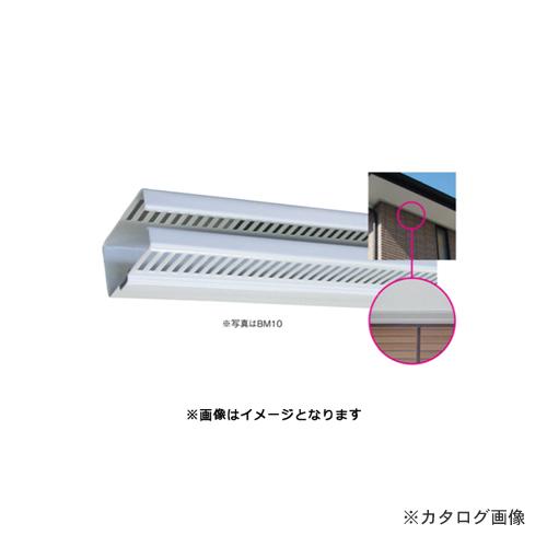 【運賃見積り】【直送品】タナカ 防火通気見切り縁 ABM10 本体(一般用) セピアブラック(B) 35.2×56.2×1820 (10本入) DA9B02