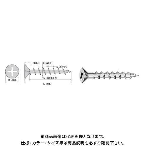 【運賃見積り】【直送品】ヤマヒロ コーススレッド フレキ 4.2X41 三価ユニクロ 500本X10箱 W41F