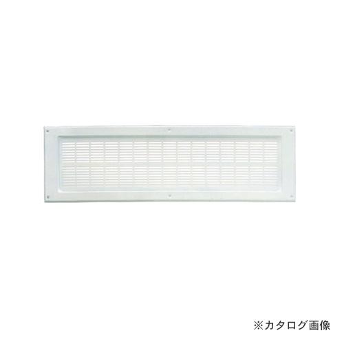 """カネシン 軒裏換気口""""Sタイプ""""ホワイト(20枚入) LN-137S"""