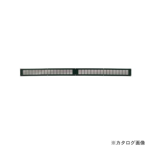 【12/5限定 ストアポイント5倍】カネシン ロング軒裏換気口 ブラック (20枚入) LN-90