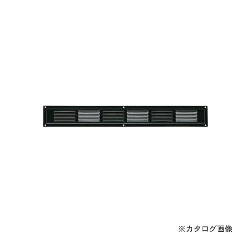 カネシン スーパースリム軒裏換気口 ハーフタイプ ブラック (20枚入) SS-45