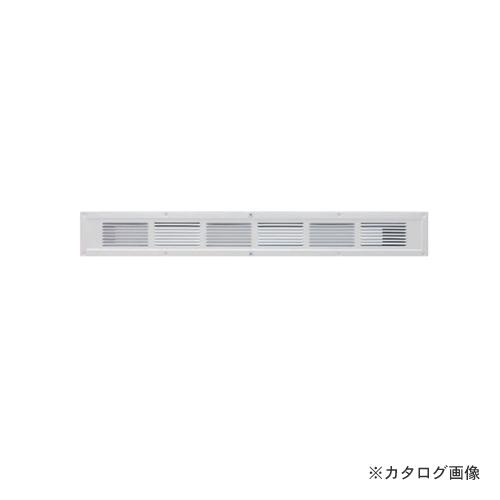 カネシン フャイヤーストップ45換気口 ハーフタイプ ホワイト(10台入) ダンパー付 SS-45-FD